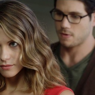 Lyndsy Fonseca stars as Natalie and Michael Doneger stars as Mitch in The Orchard's The Escort (2015)