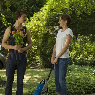 Fault in Our Stars, The - Ansel Elgort stars as Augustus Waters and Shailene Woodley stars as Hazel Grace Lancaster in 20th Century Fox's The Fault in Our Stars (2014)