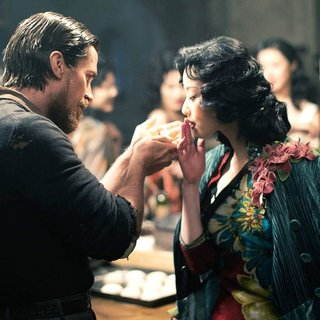 Christian Bale stars as John Miller and Ni Ni stars as Yu Mo in Wrekin Hill Entertainment's The Flowers of War (2012)