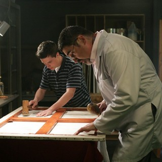Josh Hutcherson stars as Joshua and Alfred Molina stars as Everly in Big Air Studios' The Forger (2012)
