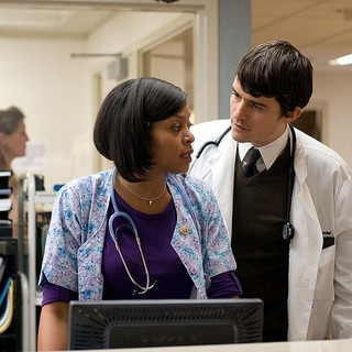 Taraji P. Henson stars as Nurse Theresa and Orlando Bloom stars as Dr. Martin Ploeck in Magnolia Pictures' The Good Doctor (2012)