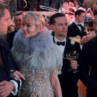 Leonardo DiCaprio, Carey Mulligan, Tobey Maguire and Joel Edgerton in Warner Bros. Pictures' The Great Gatsby (2013)