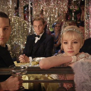 Tobey Maguire, Leonardo DiCaprio, Carey Mulligan and Joel Edgerton in Warner Bros. Pictures' The Great Gatsby (2013)