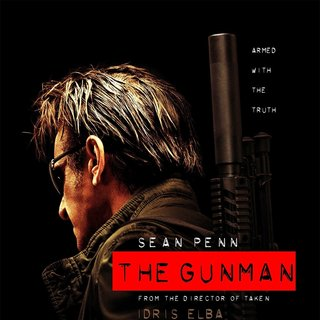 Poster of Open Road Films' The Gunman (2015)
