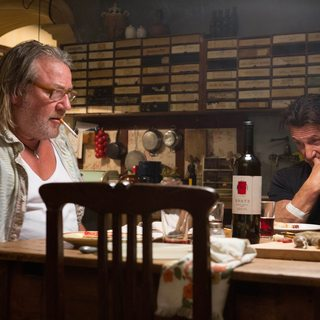 Ray Winstone stars as Stanley and Sean Penn stars as Martin Terrier in Open Road Films' The Gunman (2015)