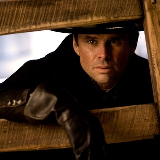 Hateful Eight, The - Walton Goggins stars as Sheriff Chris Mannix in The Weinstein Company's The Hateful Eight (2015)
