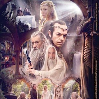 Poster of Warner Bros. Pictures' The Hobbit: An Unexpected Journey (2012)