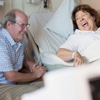 Richard Jenkins stars as Don Hollar and Margo Martindale stars as Margo Martindale in Sony Pictures Classics' The Hollars (2016)