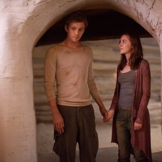 Jake Abel stars as Ian O'Shea and Saoirse Ronan stars as Melanie Stryder in Open Road Films' The Host (2013) - the-host-2013-image04