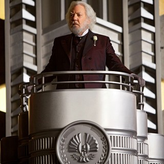 Hunger Games, The - Donald Sutherland stars as President Snow Lionsgate Films' The Hunger Games (2012)