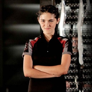 Hunger Games, The - Isabelle Fuhrman stars as Clove in Lionsgate Films' The Hunger Games (2012)