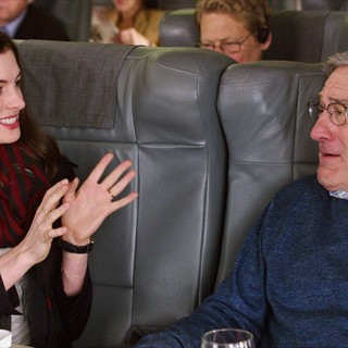 Intern, The - Anne Hathaway stars as Jules Ostin and Robert De Niro stars as Ben Whittaker in Warner Bros. Pictures' The Intern (2015)