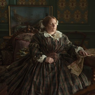 Joanna Scanlan stars as Catherine Dickens in Sony Pictures Classics' The Invisible Woman (2013). Photo credit by David Appleby.