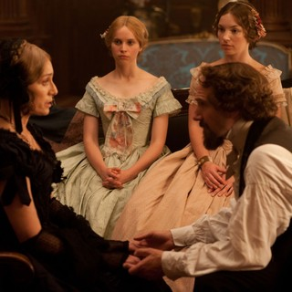Kristin Scott Thomas, Felicity Jones, Perdita Weeks and Ralph Fiennes in Sony Pictures Classics' The Invisible Woman (2013). Photo credit by David Appleby.