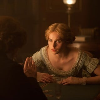 Felicity Jones stars as Nelly Ternan in Sony Pictures Classics' The Invisible Woman (2013). Photo credit by David Appleby.