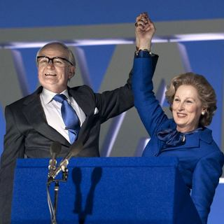 Jim Broadbent stars as Denis Thatcher and Meryl Streep stars as Margaret Thatcher in The Weinstein Company's The Iron Lady (2012). Photo by: Alex Bailey. - the-iron-lady02