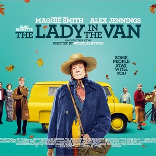 Poster of Sony Pictures Classics' The Lady in the Van (2015) - the-lady-in-the-van-poster02