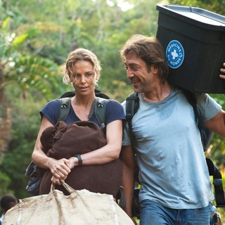 Charlize Theron stars as Wren and Javier Bardem stars as Miguel Leon in Saban Films' The Last Face (2017)