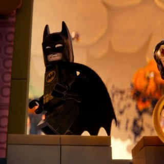 Lego Movie, The - Batman and Wonder Woman from Warner Bros. Pictures' The Lego Movie (2014)