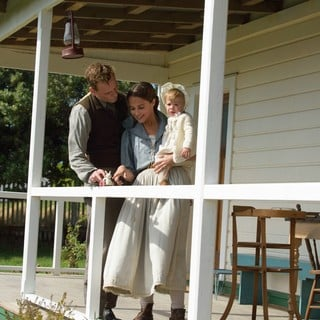 Michael Fassbender stars as Tom Sherbourne and Alicia Vikander stars as Isabel Sherbourne in DreamWorks Pictures' The Light Between Oceans (2016)