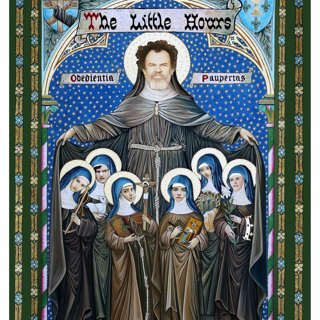 Poster of Gunpowder & Sky's The Little Hours (2017) - the-little-hours-poster01