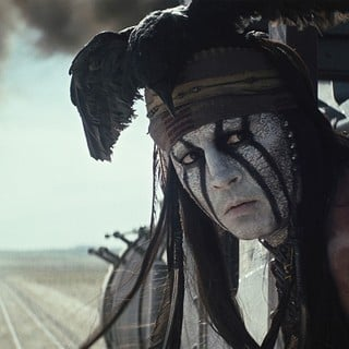 Lone Ranger, The - Johnny Depp stars as Tonto in Walt Disney Pictures' The Lone Ranger (2013)