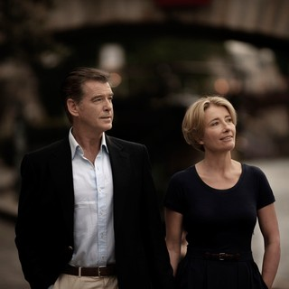 Pierce Brosnan stars as Richard and Emma Thompson stars as Kate in Ketchup Entertainment's The Love Punch (2014)