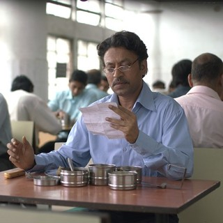 Irrfan Khan stars as Saajan Fernandes in Sony Pictures Classics' The Lunchbox (2014)