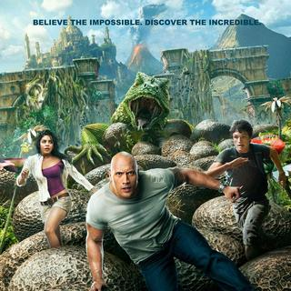 Poster of Warner Bros. Pictures' Journey 2: The Mysterious Island (2012)