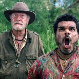 Michael Caine stars as Grandfather and Luis Guzman stars as Gabato in Warner Bros. Pictures' Journey 2: The Mysterious Island (2012)
