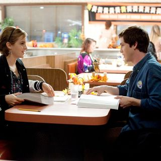 Emma Watson stars as Sam and Logan Lerman stars as Charlie in Summit Entertainment's The Perks of Being a Wallflower (2012)