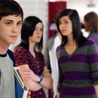 Logan Lerman stars as Charlie in Summit Entertainment's The Perks of Being a Wallflower (2012)