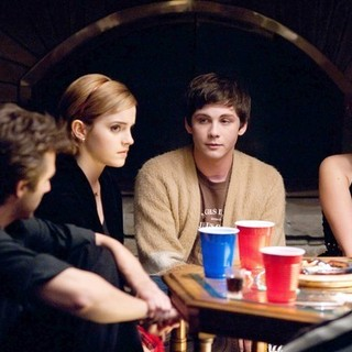 Emma Watson, Logan Lerman and Mae Whitman in Summit Entertainment's The Perks of Being a Wallflower (2012)