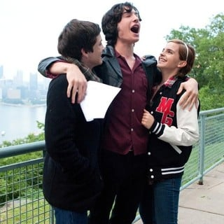 Logan Lerman, Ezra Miller and Emma Watson in Summit Entertainment's The Perks of Being a Wallflower (2012)