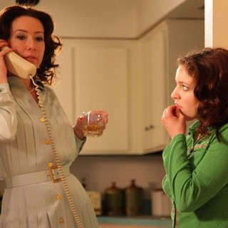 Molly Parker stars as Donna Cantwell and Alexandra Doke stars as Janie Cantwell in Freestyle Releasing's The Playroom (2013)