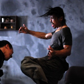 Yayan Ruhian stars as Yayan Ruhian in Mad Dog in Sony Pictures Classics' The Raid: Redemption (2012)