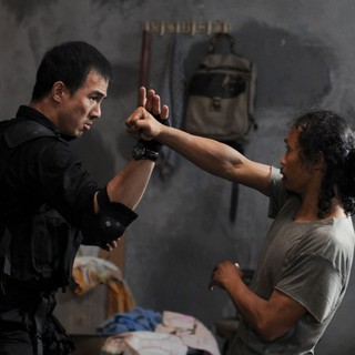 Joe Taslim stars as Jaka and Yayan Ruhian in Mad Dog in Sony Pictures Classics' The Raid: Redemption (2012)
