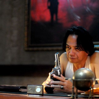 Ray Sahetapy stars as Tama in Sony Pictures Classics' The Raid: Redemption (2012)
