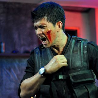 Iko Uwais stars as Rama in Sony Pictures Classics' The Raid: Redemption (2012). Photo credit by Akhirwan Nurhaidir.