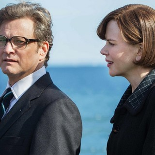 Colin Firth stars as Eric Lomax and Nicole Kidman stars as Patricia Wallace in The Weinstein Company's The Railway Man (2014). Photo credit by Jaap Buitendijk.