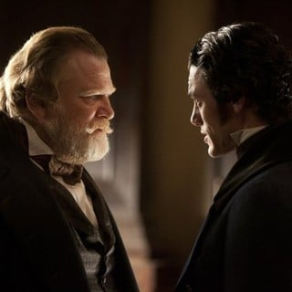 Brendan Gleeson stars as Captain Hamilton and John Cusack stars as Edgar Allan Poe in Relativity Media's The Raven (2012) - the-raven-movie09
