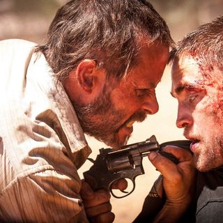 Guy Pearce stars as Eric and Robert Pattinson stars as Reynolds in FilmNation Entertainment's The Rover (2014)