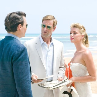 Johnny Depp, Aaron Eckhart and Amber Heard in FilmDistrict's The Rum Diary (2011) - the-rum-diary-still06