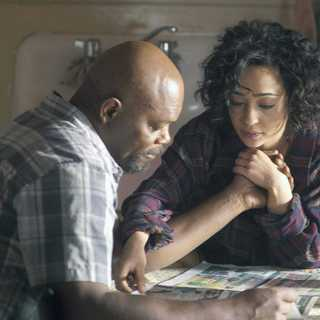 Samuel L. Jackson stars as Foley and Ruth Negga stars as Iris in IFC Films' The Samaritan (2012). Photo credit by Sabrina Lantos.