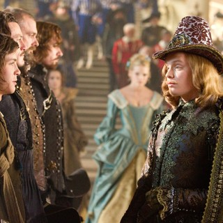 Logan Lerman, Luke Evans, Ray Stevenson, Matthew Macfadyen and Freddie Fox in Summit Entertainment's The Three Musketeers (2011) - the-three-musketeers-pict06
