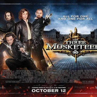 Poster of Summit Entertainment's The Three Musketeers (2011) - the-three-musketeers-poster10