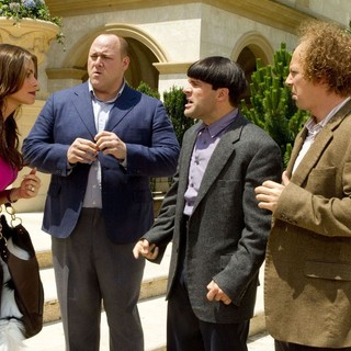 Sofía Vergara, Will Sasso, Chris Diamantopoulos and Sean Hayes in 20th Century Fox's The Three Stooges (2012)
