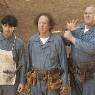Chris Diamantopoulos, Sean Hayes and Will Sasso in 20th Century Fox's The Three Stooges (2012)