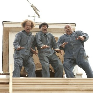 Sean Hayes, Chris Diamantopoulos and Will Sasso in 20th Century Fox's The Three Stooges (2012)