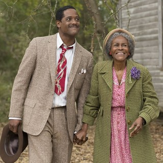 Blair Underwood stars as Ludie Watts and Cicely Tyson stars as Mrs. Watts in Lifetime's The Trip to Bountiful (2014). Photo credit by Bob Mahoney. - the-trip-to-bountiful-image05